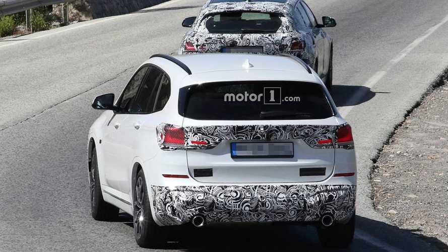 2020 BMW X1 yeni casus fotoğraflar