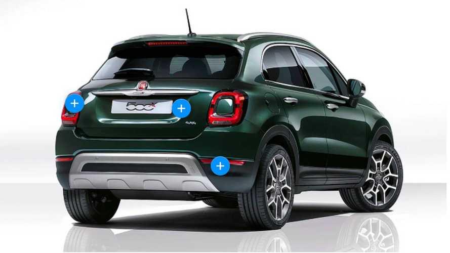 Fiat 500X restyling, le novità punto per punto