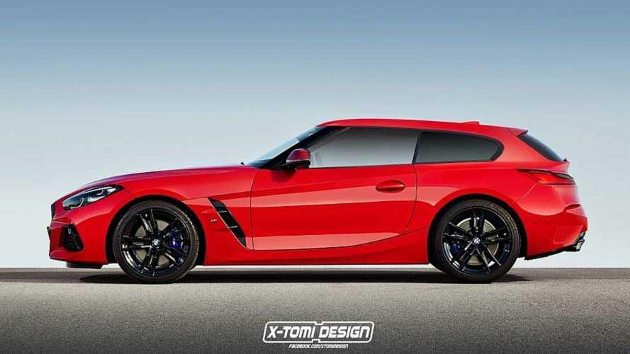 La nouvelle BMW Z4 imaginée en coupé et shooting brake