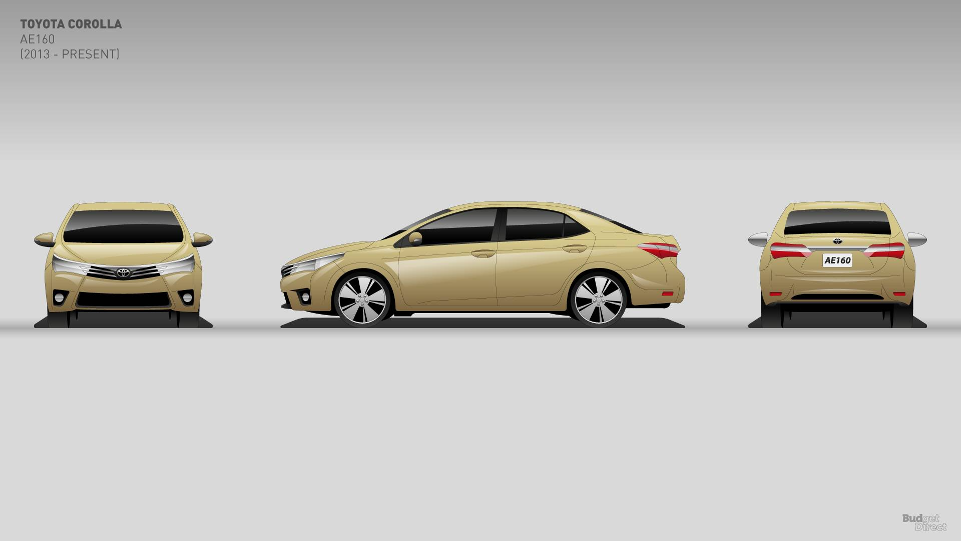 11 Generations Of Corolla Show Evolution Of A Bestseller