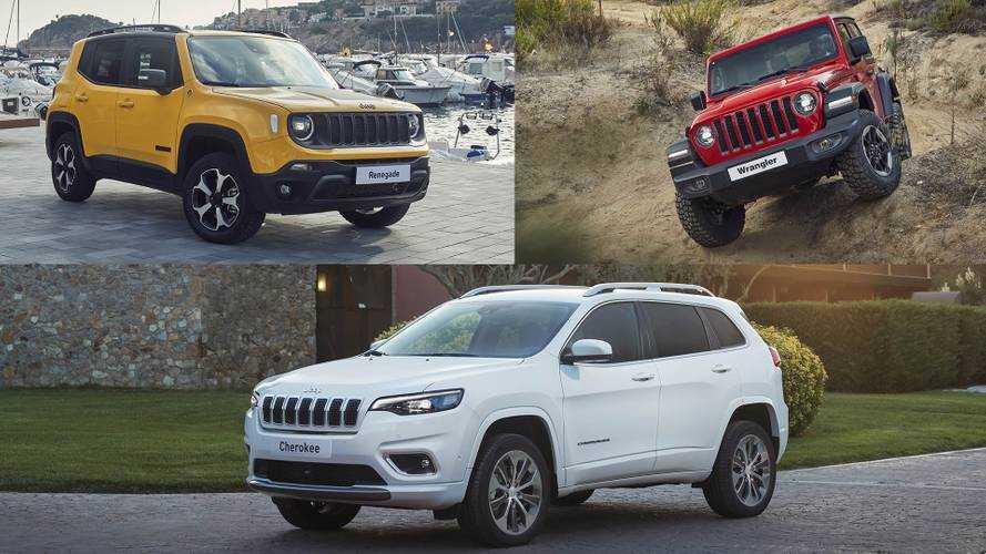Gama Jeep 2019: llegan los nuevos Renegade, Cherokee y Wrangler