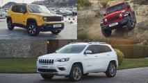 gama jeep 2019 renegade cherokee wrangler