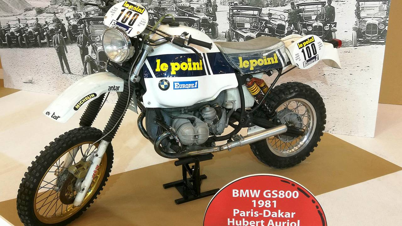 BMW GS 800 (1981) Paris-Dakar Hubert Auriol