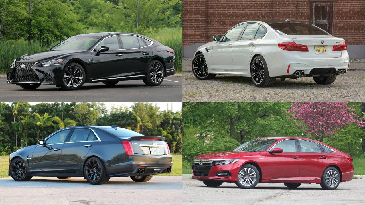 Our 10 Highest Rated Sedans Of 2018 So Far