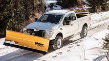 Nissan Titan Snow Plow