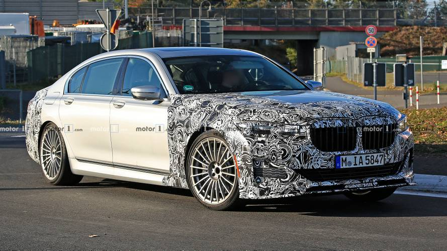Alpina B7 spied working out its 7 Series bones at the Nürburgring