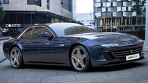 Ares Design Project Pony Ferrari GTC4Lusso