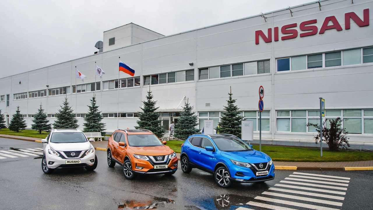 Сборка Nissan Qashqai в Санкт-Петербурге