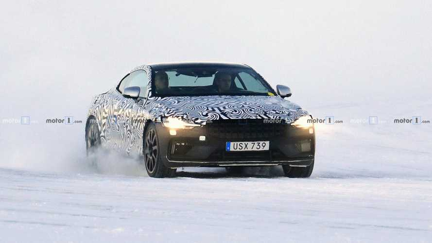 Polestar 1 spy photos