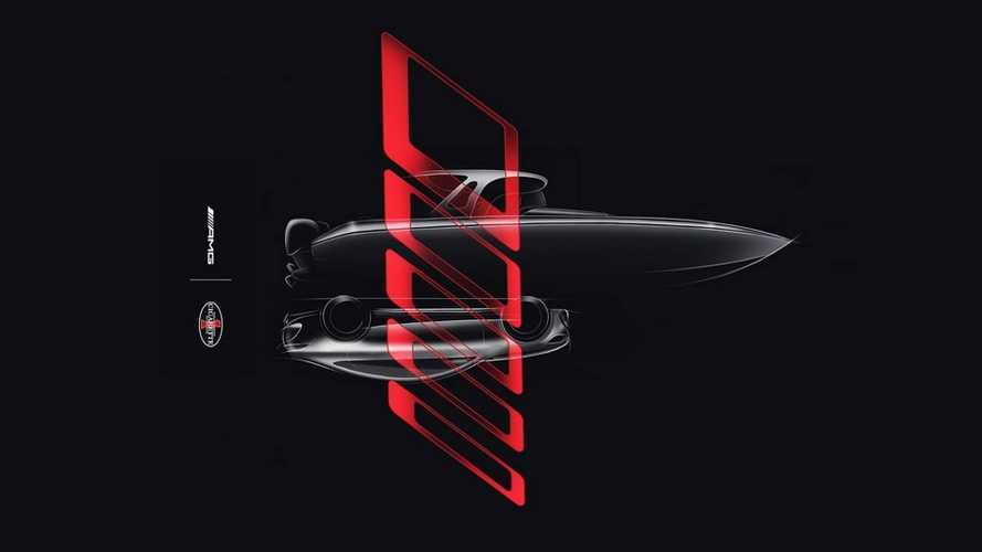 Mercedes-AMG teases new... boat