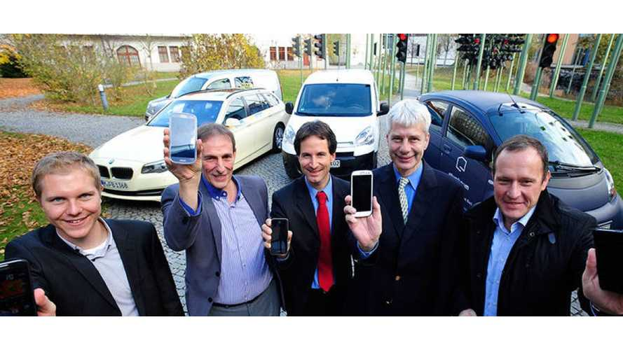 Smartphones Become Virtual Electric Vehicles For 130 Trial Participants in Germany