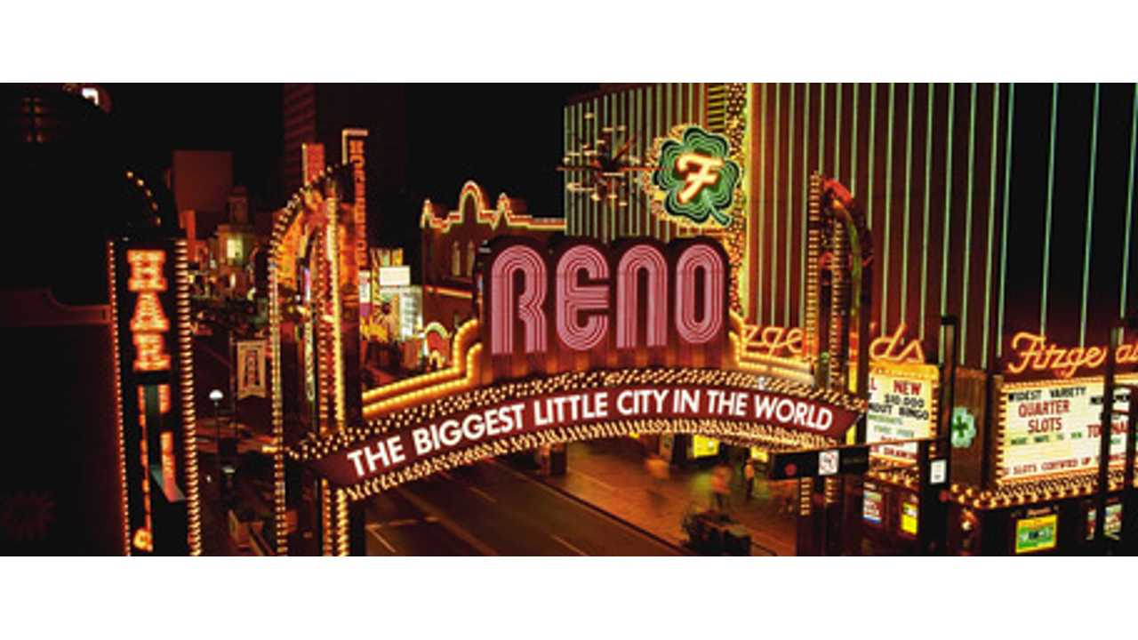 Reno, Nevada to Double Public Charging Station Count Over Next 6 Months
