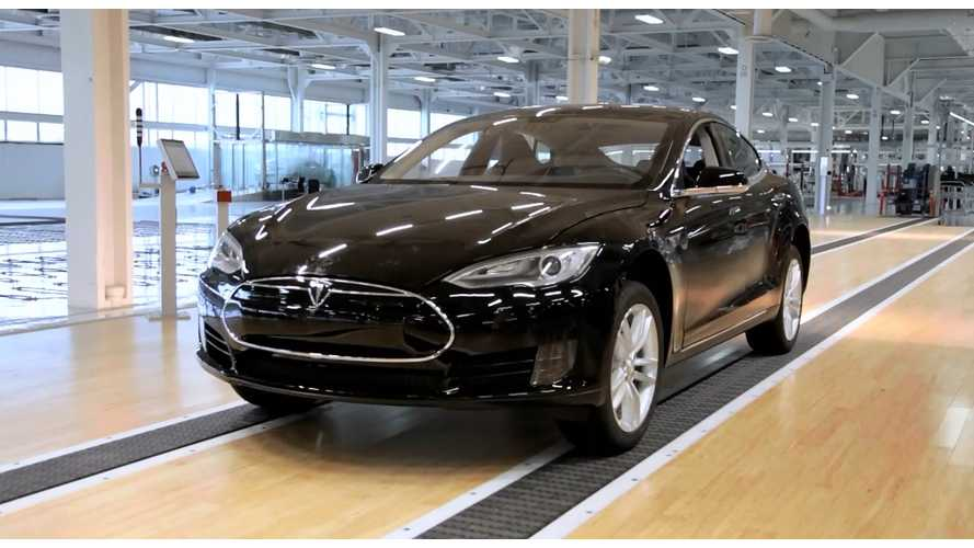 Tesla Model S Production Rate Now 700 Units Per Week - 1,000 Per Week By End of 2014