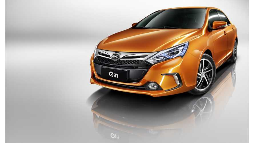 In Four Months, BYD Sold 3,294 Qin And 881 e6 In China