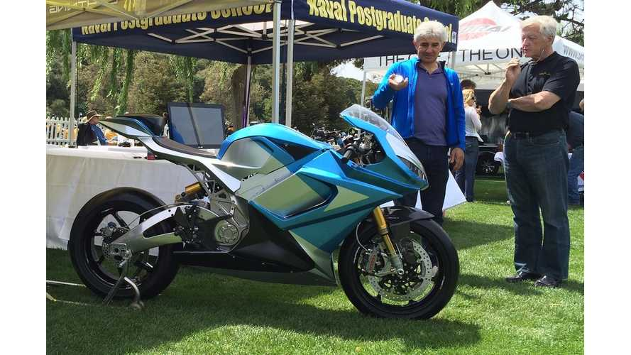 Lightning Motorcycles LS-218 Electric Superbike Gets Unveiled