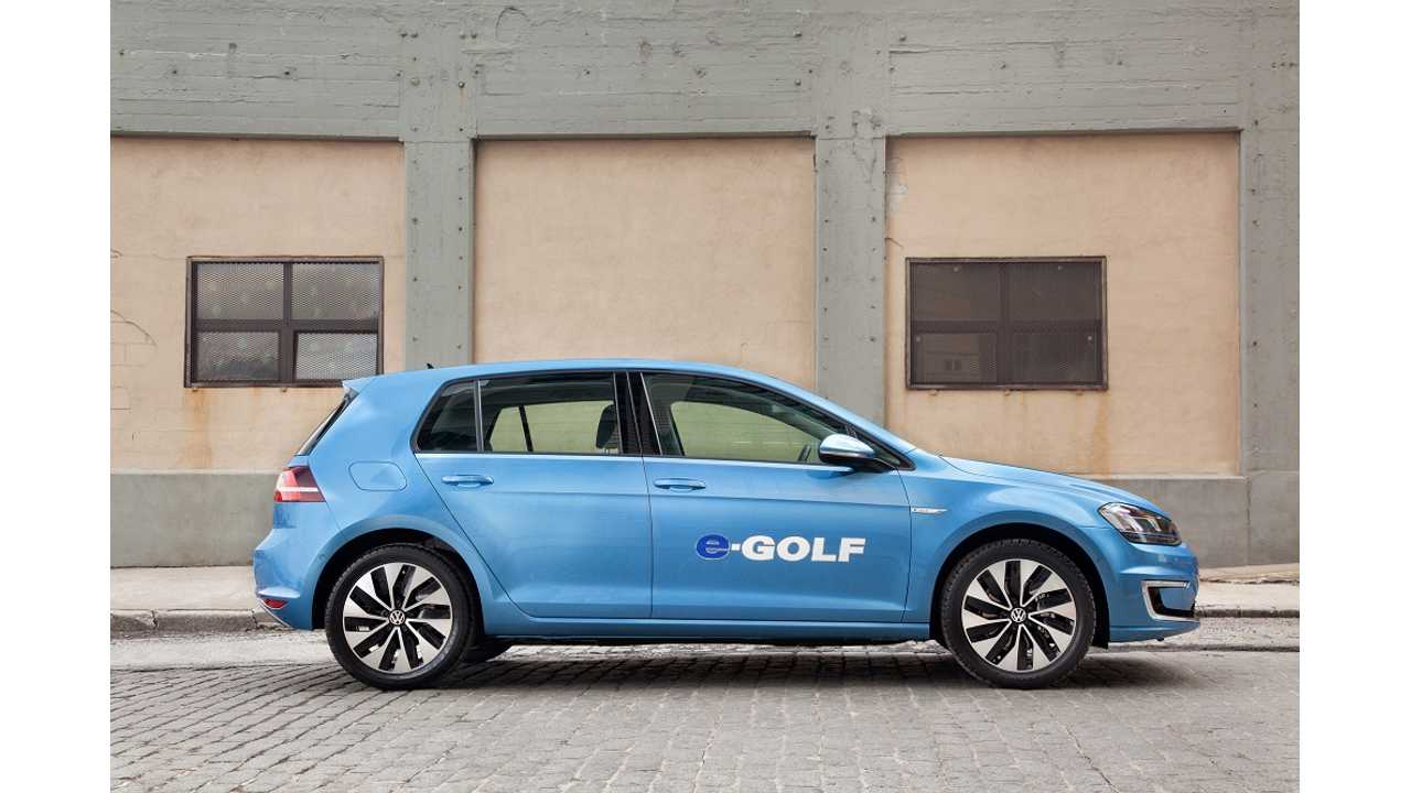 New Specs For 2015 e-Golf Released By VW, Launches Later