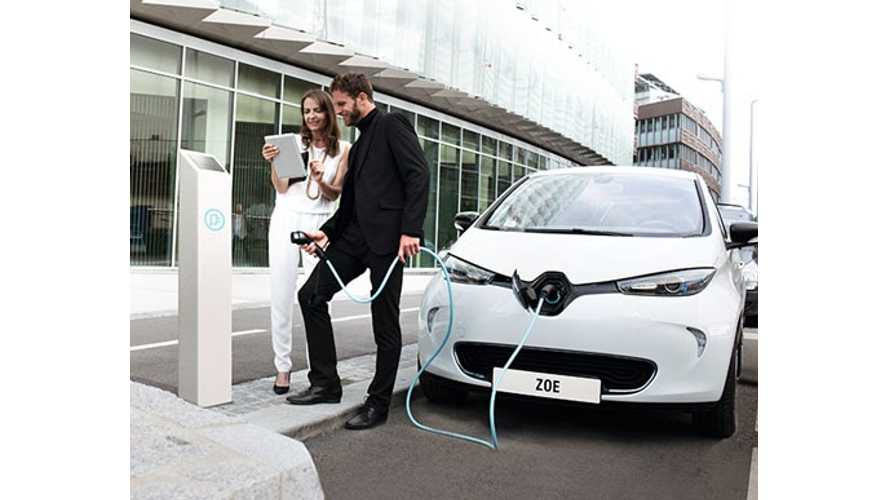 Renault Zoe Comes To Europe's Hottest Market - Norway.  Pricing Now Includes Battery