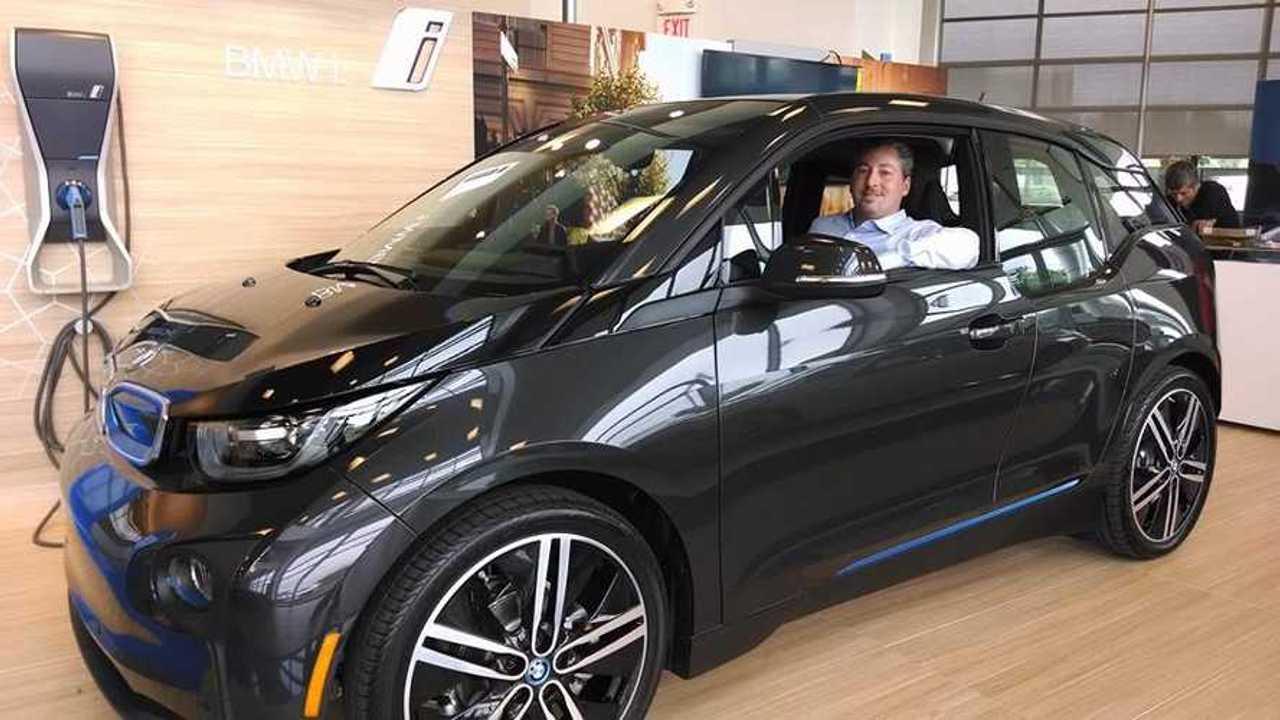 First US BMW i3 REx Delivered to Tom Moloughney