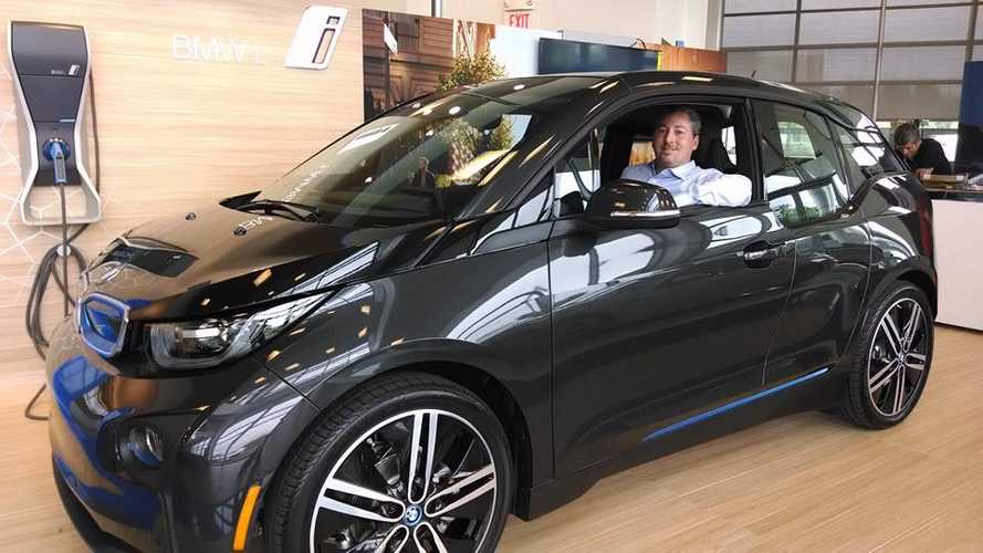 First US BMW i3 REx Delivered to Tom Moloughney