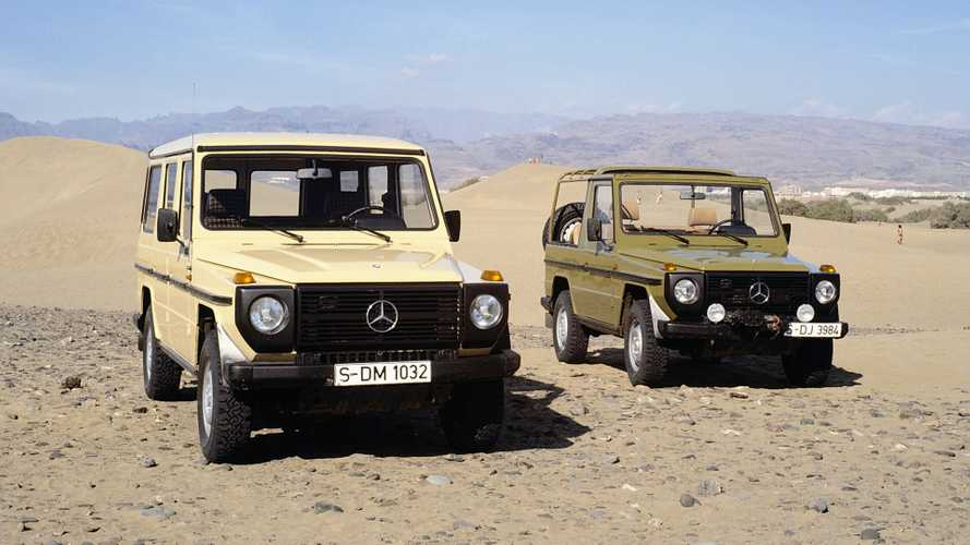 Mercedes-Benz G-Class At 40: Off-Roading The German Way