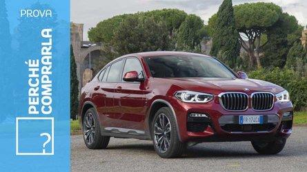 BMW X4, perché comprarla... e perché no