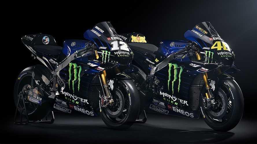 Valentino Rossi (e Maverick Vinales): ecco la nuova Yamaha M1