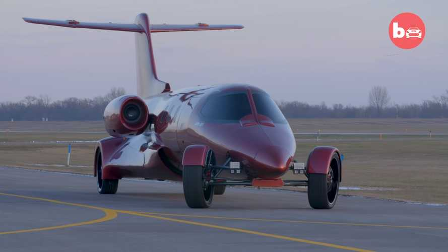 Bonkers Limo-Jet Looks Better Than Ever In Up-Close Video Tour