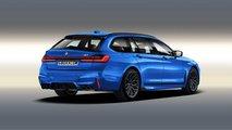 BMW Série 7 - Illustration par Aksyonov Nikita