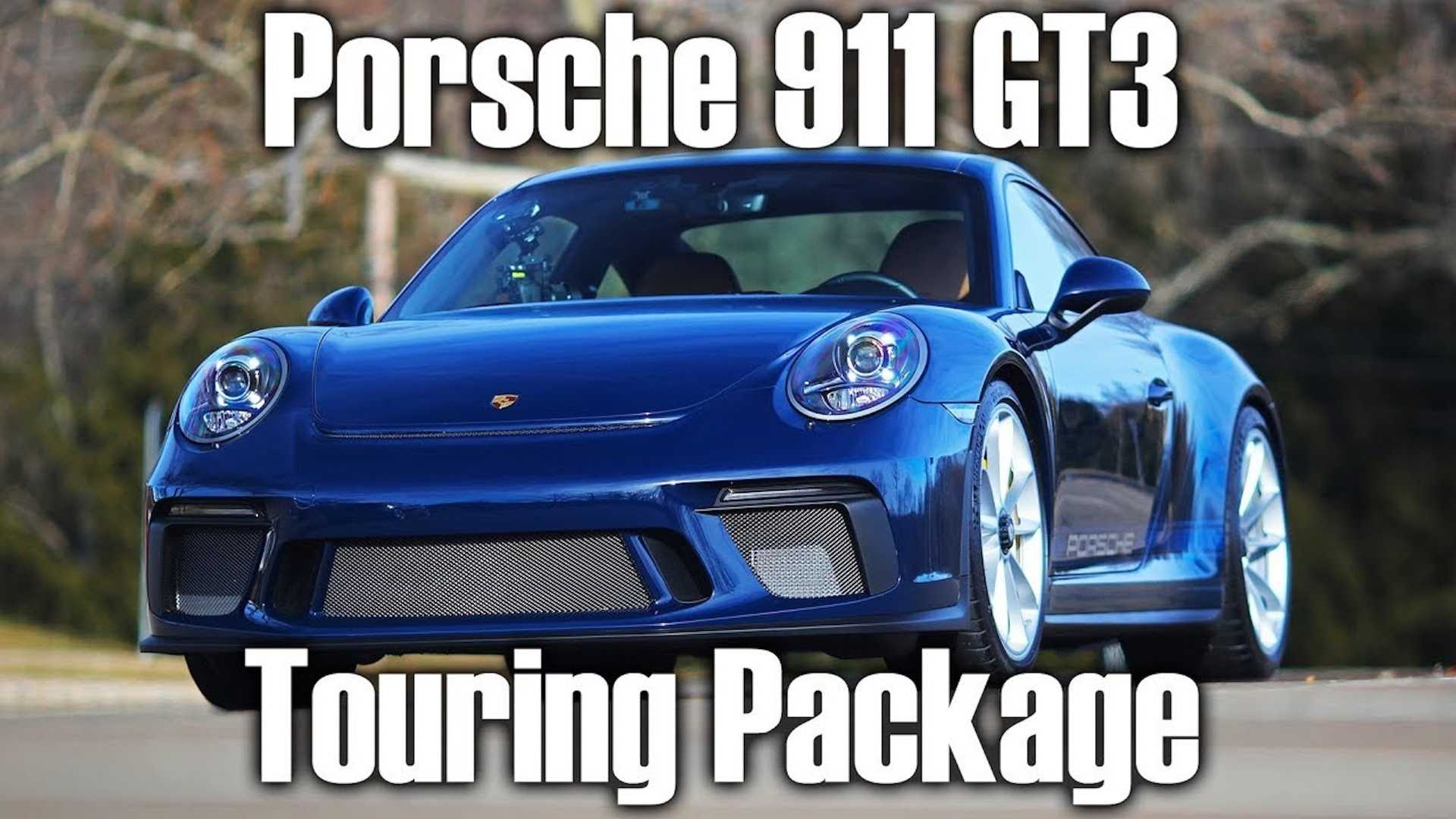 Porsche 911 GT3 Touring Has A Boxster Worth Of Options