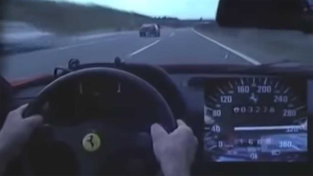 200 Kph To Mph >> Remember When A Ferrari F40 Hit 200 Mph On A Japanese Highway