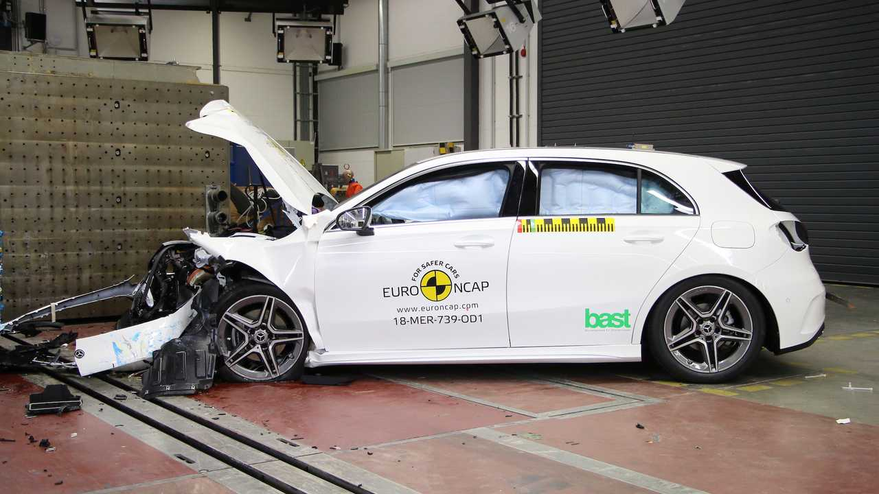 Crash test Euro NCAP, le tre Best in Class del 2018