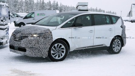 Renault Espace Spied Getting Ready For A Minor Refresh