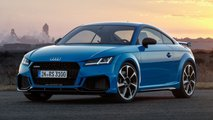 audi tt rs coupe roadster restyling 2019