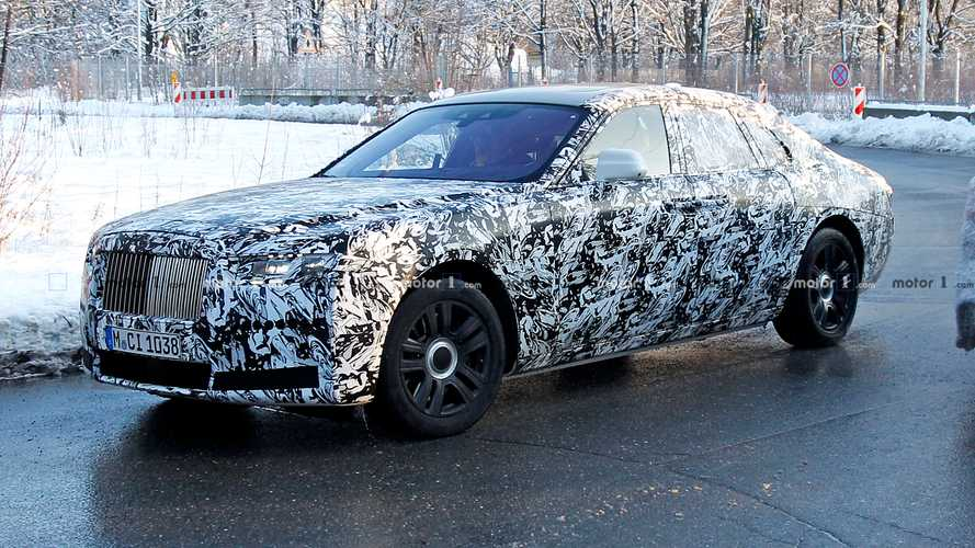 Next-gen Rolls-Royce Ghost spied making the rounds in Munich