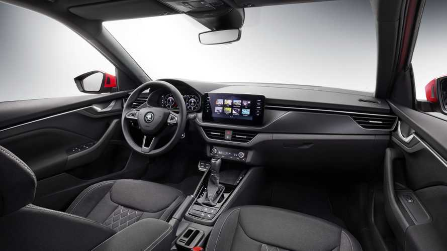 2019 Skoda Kamiq interior revealed with familiar look