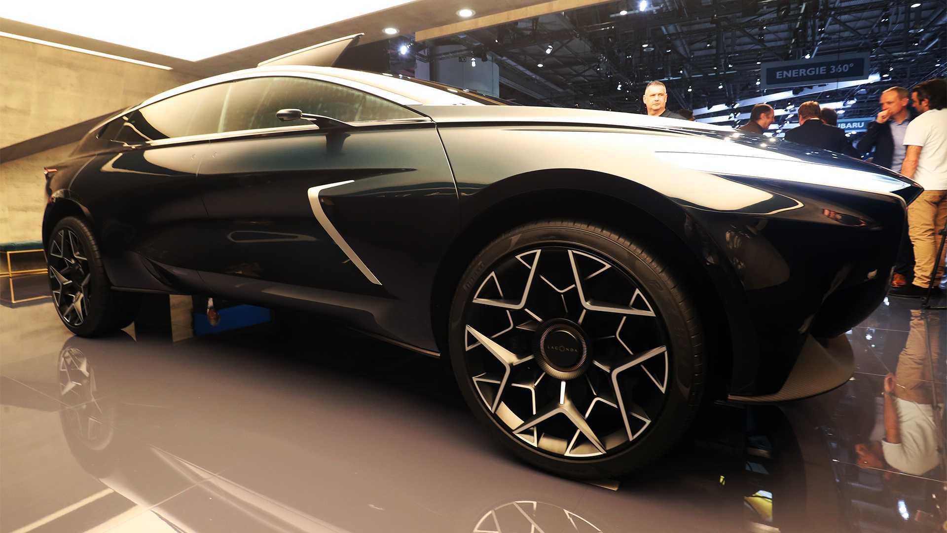 Lagonda All Terrain Concept Brings Its Floating Key To Geneva