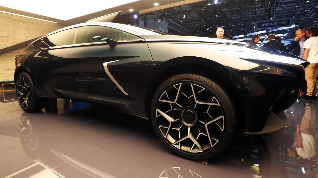 Concept tout terrain Aston Martin Lagonda: Geneva Live
