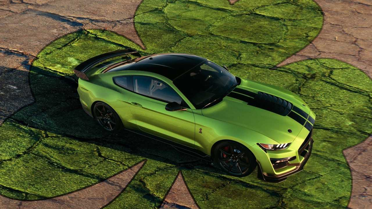 Ford Mustang Grabber Lime