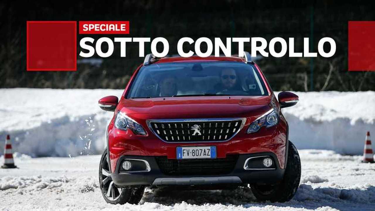 Copertina 2 Grip Control Peugeot, l'aiuto elettronico se manca l'aderenza