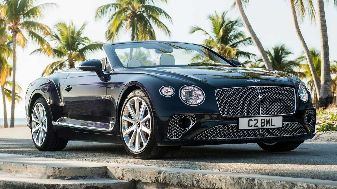 Copertina Bentley Continental GT, ecco quella col V8