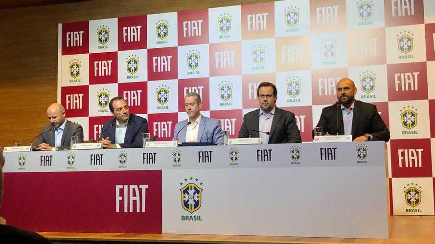 Fiat patrocina Seleção Brasileira de Futebol até 2022