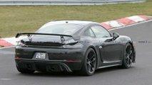 2020 Porsche 718 Cayman GT4 casus fotoğraf