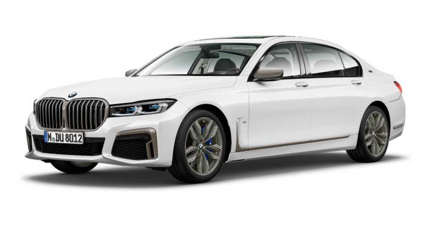 2020 BMW 7 Series official photos leaked