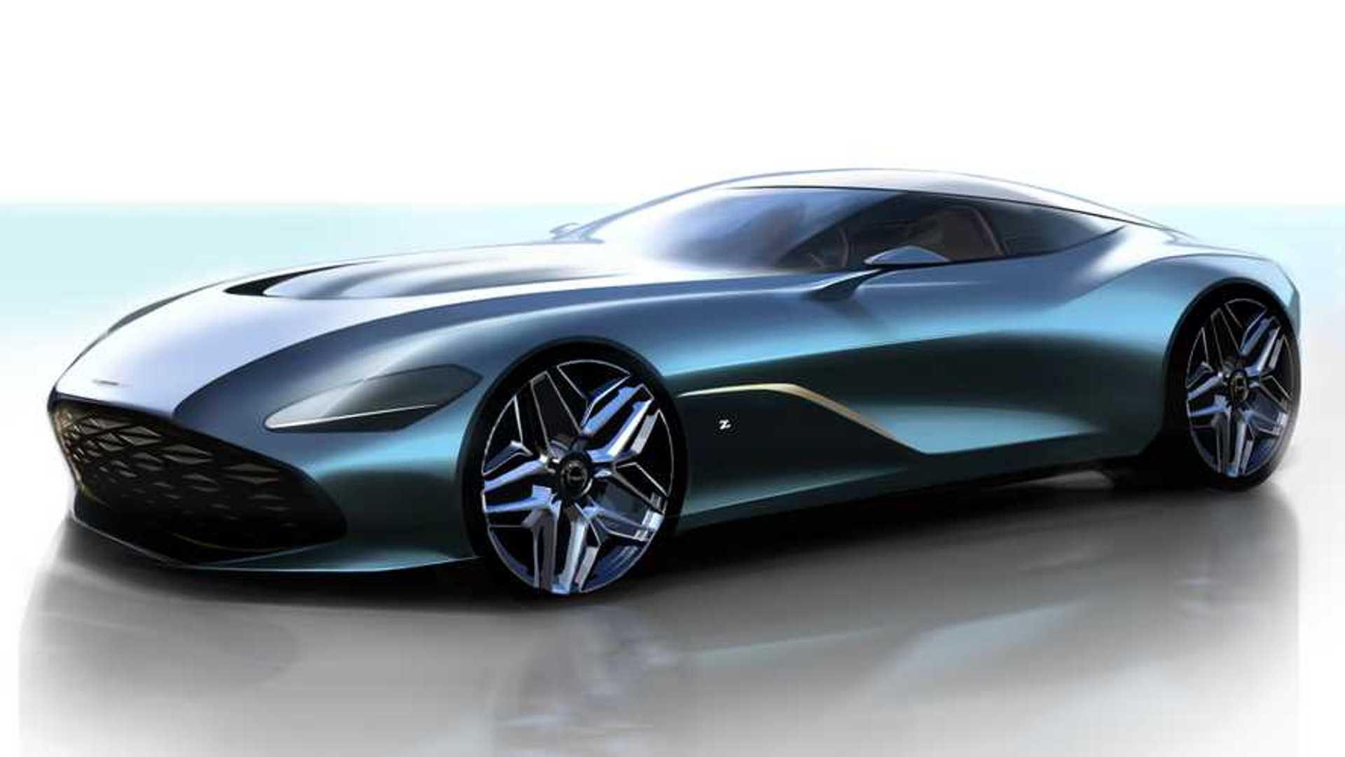 New Aston Martin >> Aston Martin Dbs Gt Zagato Looks Stunning In New Sketches