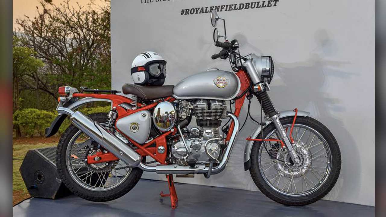 New Royal Enfield Bullet 350 and 500 Trials