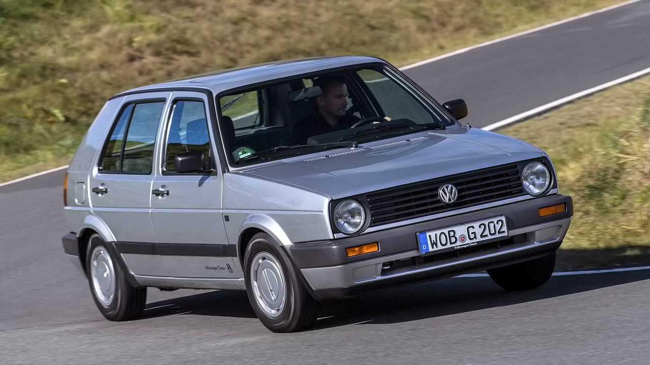VW Golf Facelift 1989