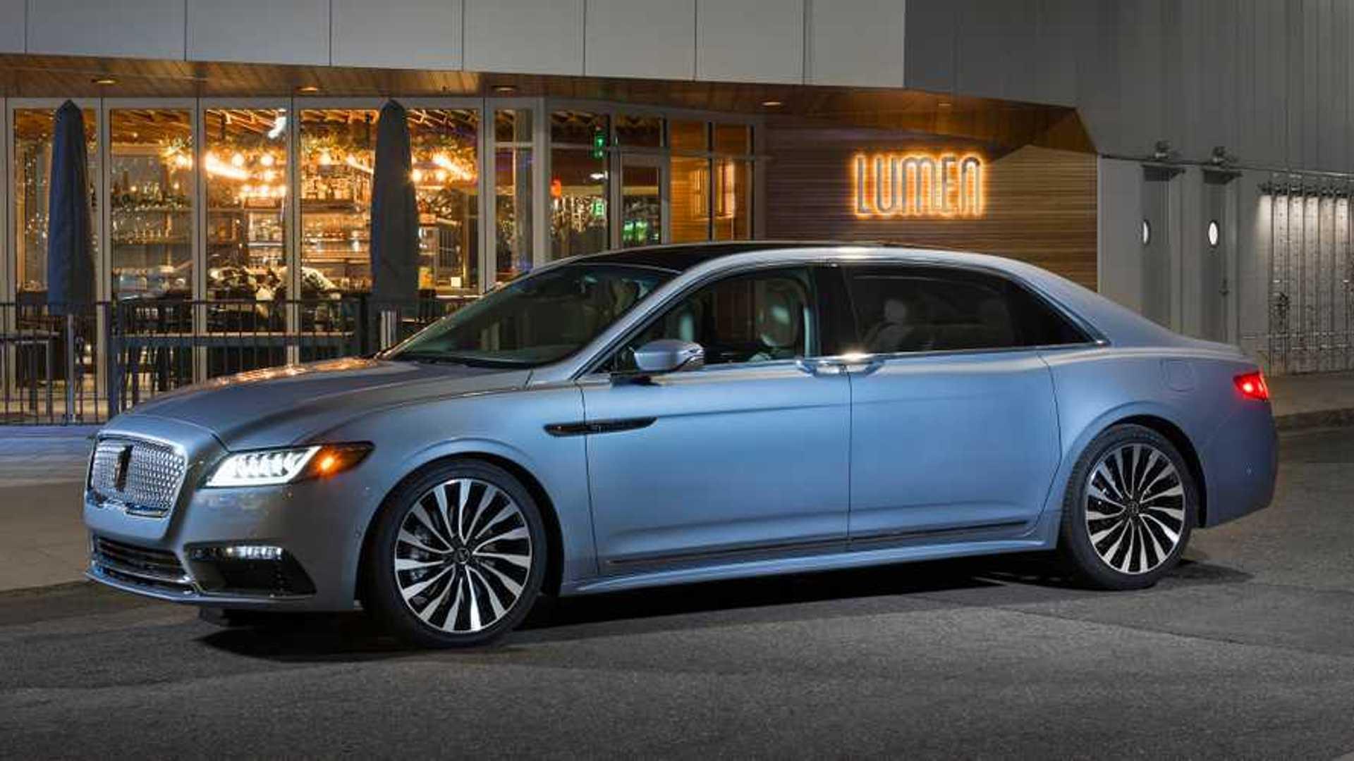 2020 Lincoln Continental New Concept