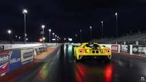 Ford GT At Drag Strip