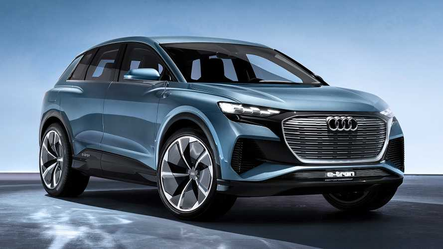 Audi Q4 e-tron Concept revealed in Geneva