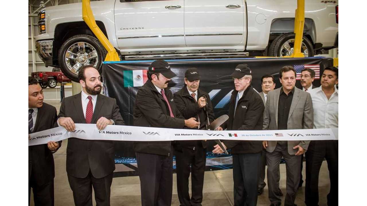 Via Motors Cuts Ribbon at Facility in Mexico